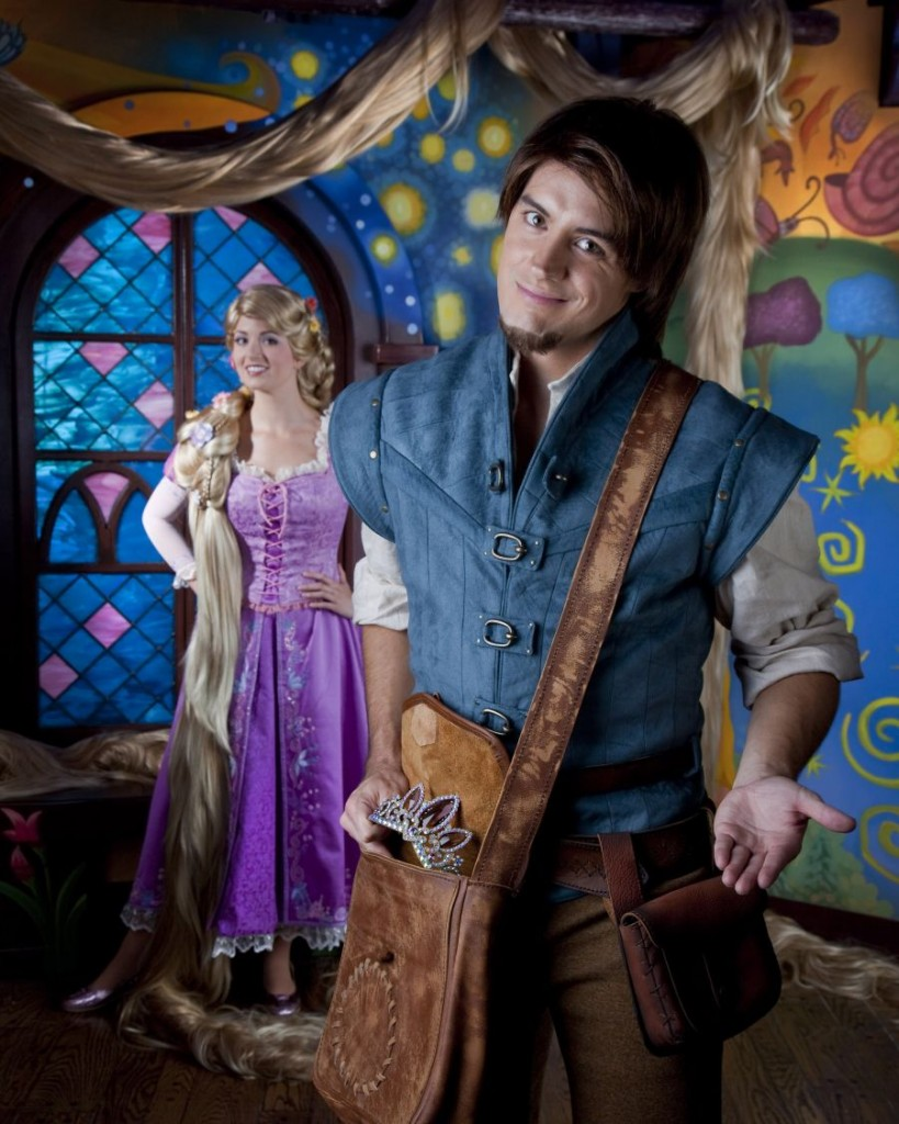 Tangled - Rapunzel and Flynn Rider
