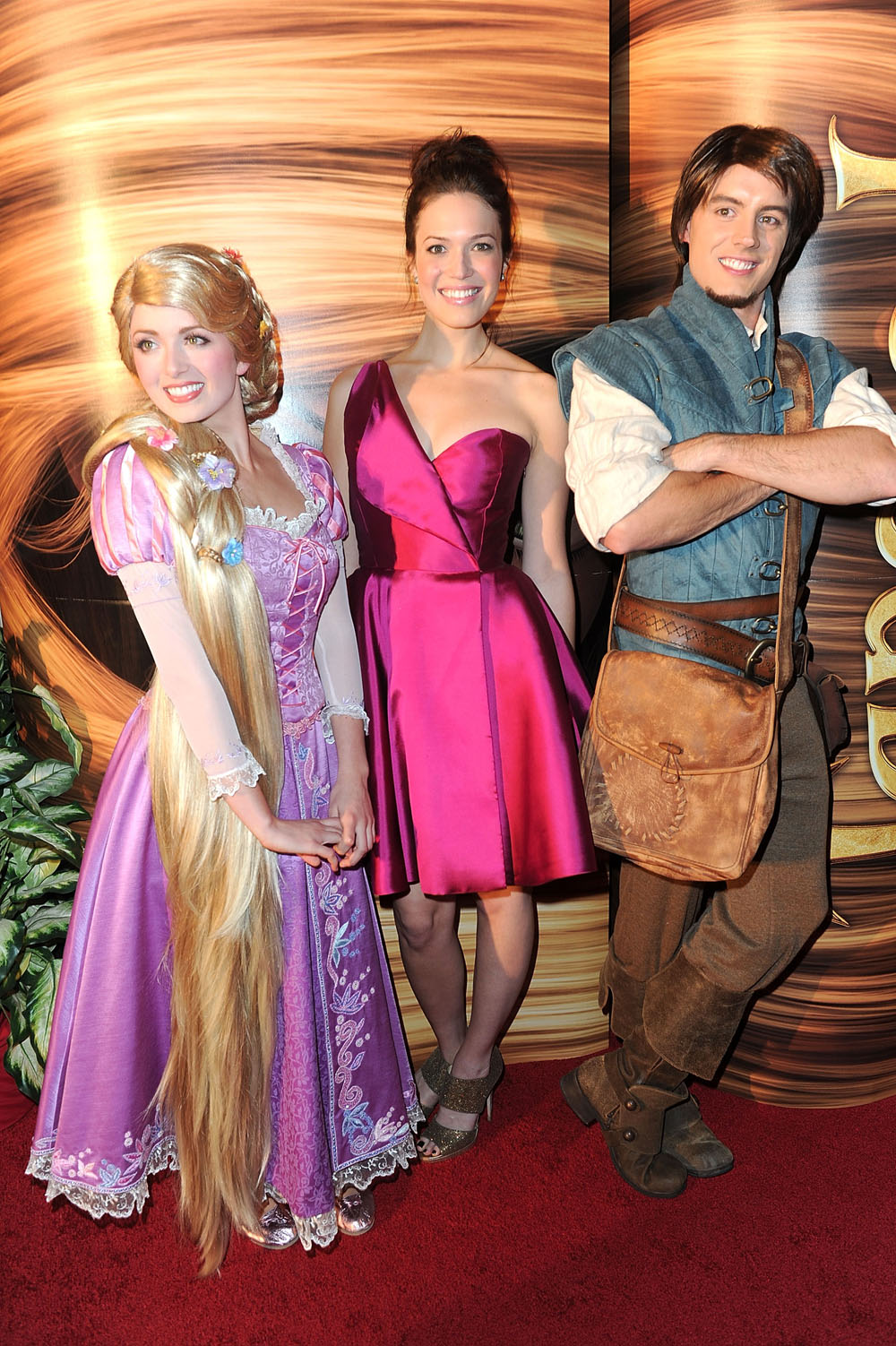 Walt disney pictures presents the premiere of tangled red carpet