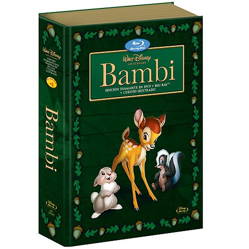 Bambi Bambi_Blu-ray_EspanhaLivro