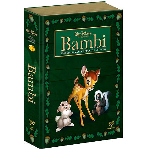 Bambi Bambi_DVD_EspanhaLivro