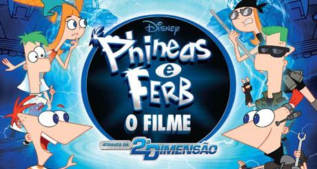 A Dimensão Maldita | Phineas e Ferb Através da 2a. Dimensão | Disney Channel