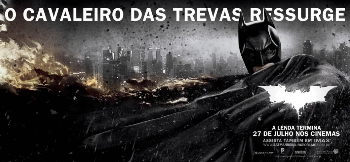 Batman O Cavaleiro Das Trevas Ressurge Veja Novos Banners