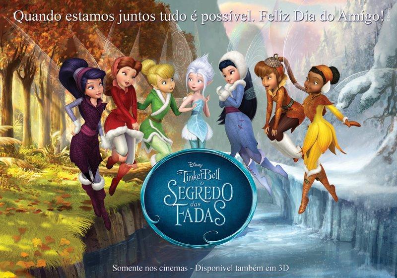 Tinker Bell E O Segredo Das Fadas   Disney Apresenta Cenas Dubladas Do
