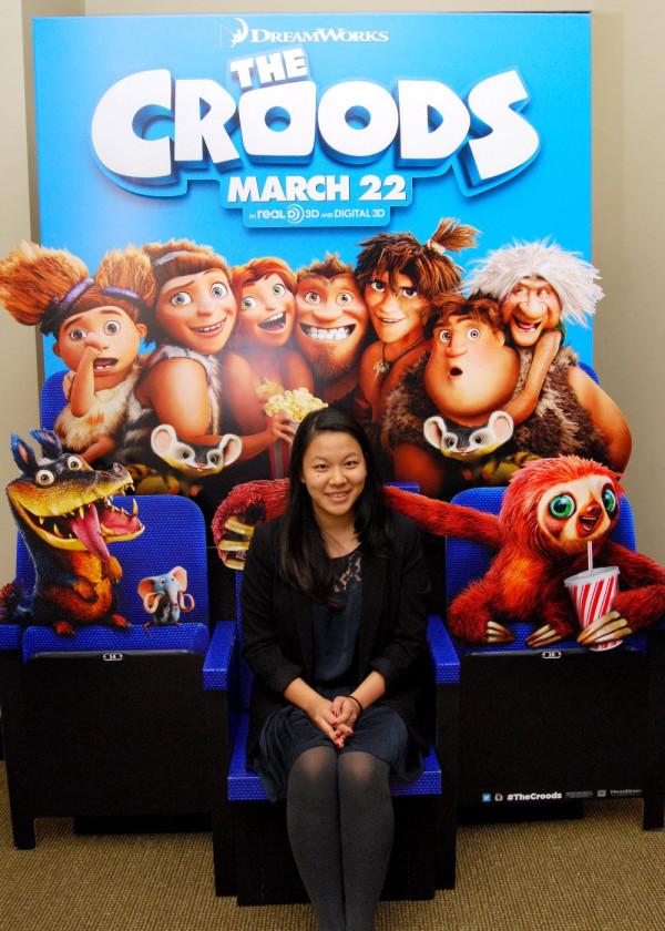 Os Croods | Animação ganha novo cartaz e display de cinema
