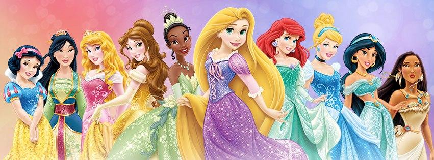 Princesas Disney Estdio Muda Visual Das Em Novo Site