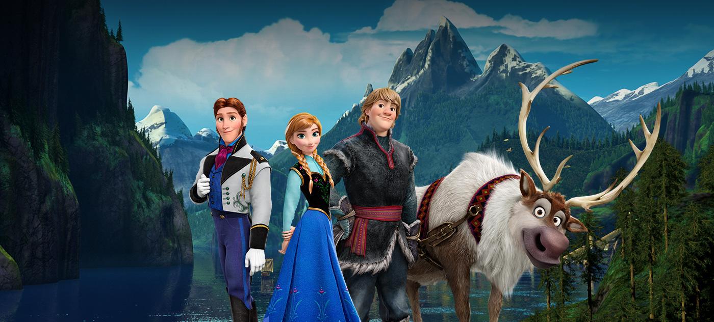 Imagens Frozen Uma Aventura Congelante Minimalist frozen: uma aventura congelante | disney divulga duas novas artes
