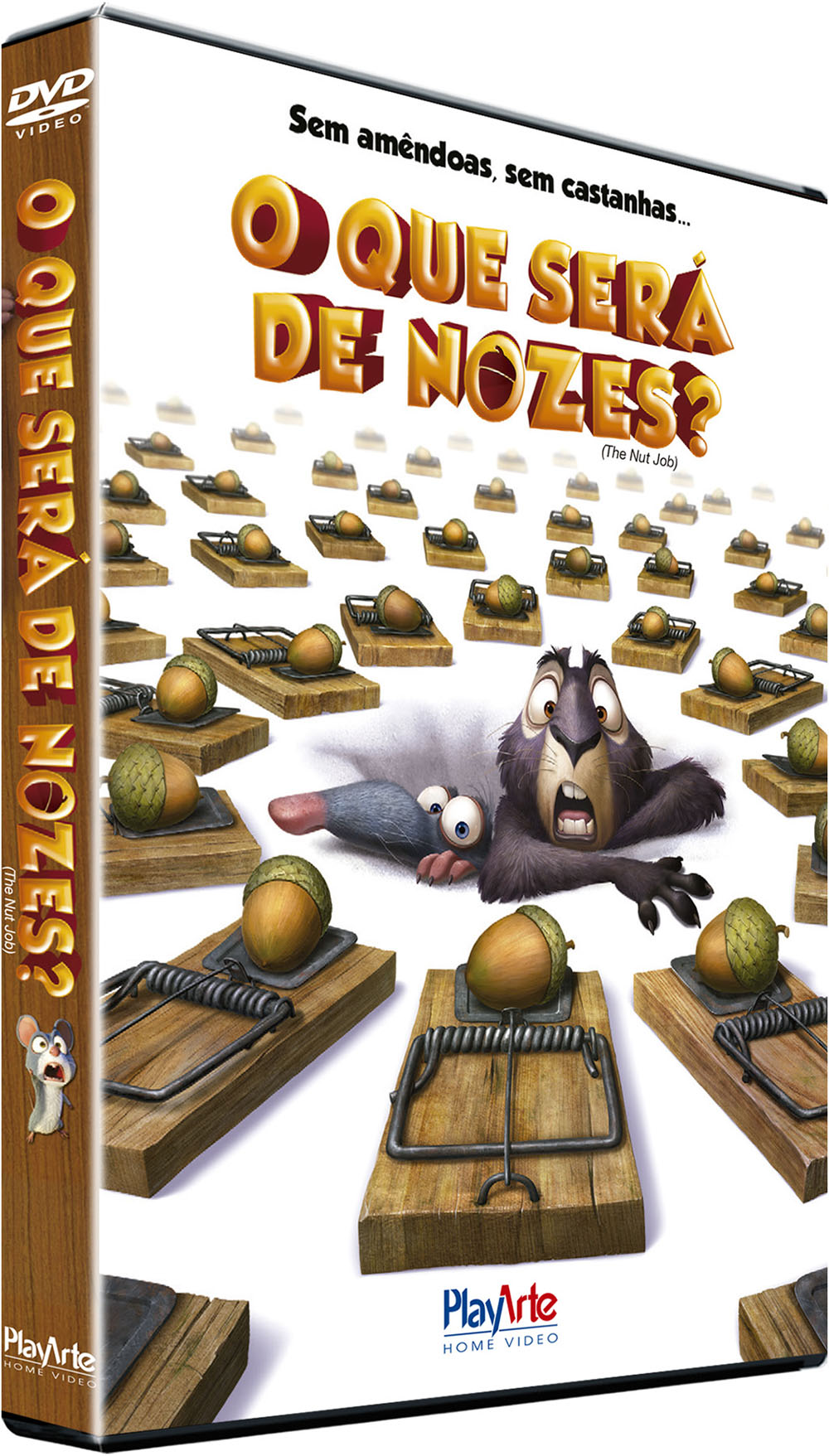 DVD The Nut Job PERS