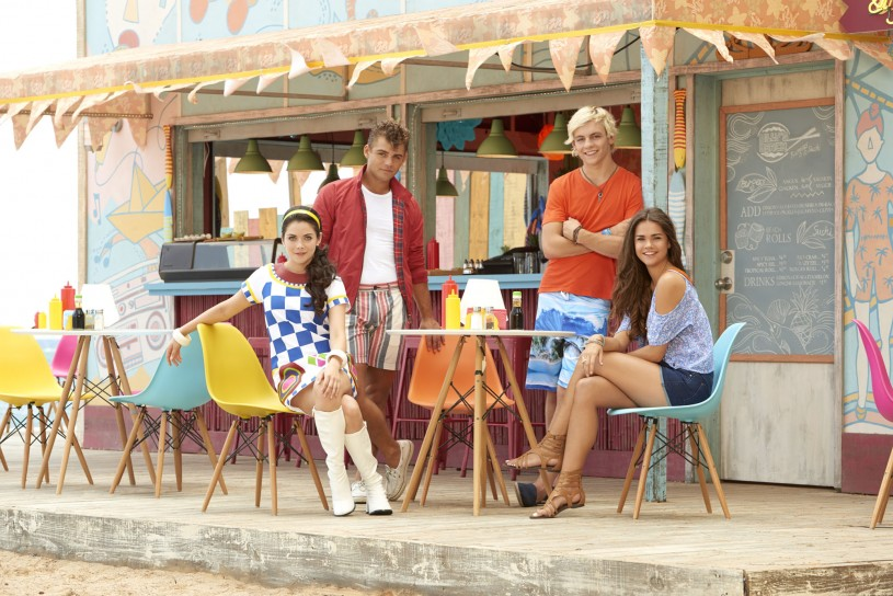 GRACE PHIPPS, GARRET CLAYTON, ROSS LYNCH, MAIA MITCHELL