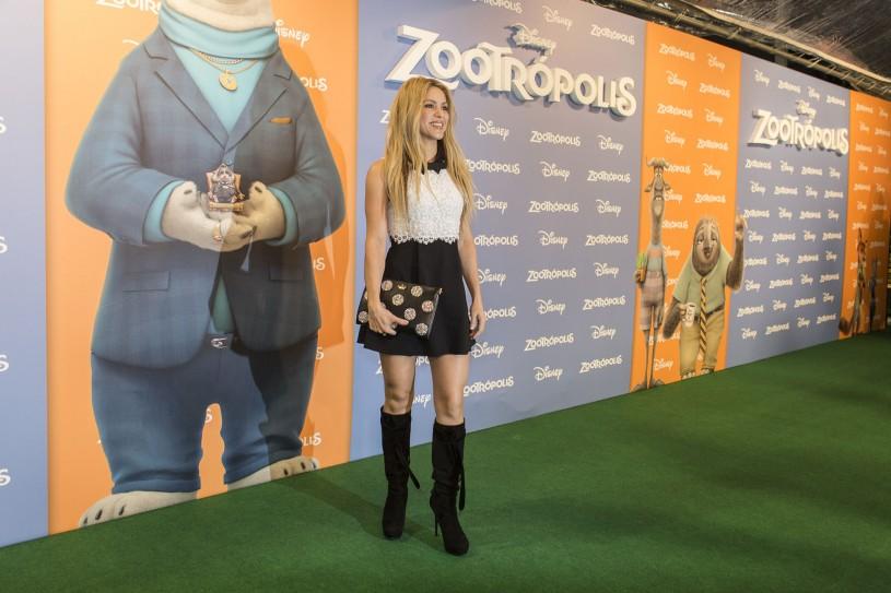 'Zootropolis' Barcelona Premiere