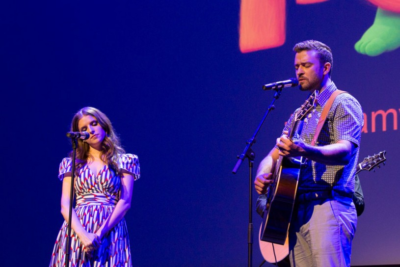 Justin Timberlake and Anna Kendrick perform live Cannes 2016